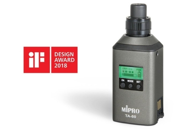 MIPRO vince un iF Design Award 2018