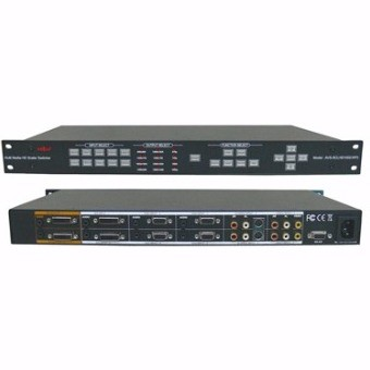 Full HD Scaler Switcher 10:1x2